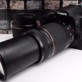 Canon - 【美品】Canon EOS 70D ダブルレンズ