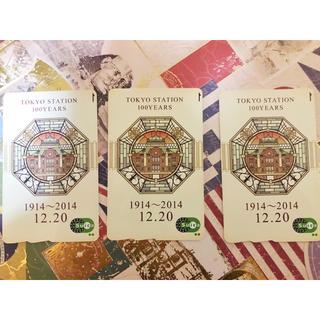 ジェイアール(JR)の東京駅100周年スイカ(鉄道)