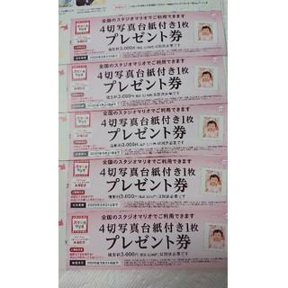 5枚セット★スタジオマリオ【4切写真台紙付き1枚プレゼント】(その他)