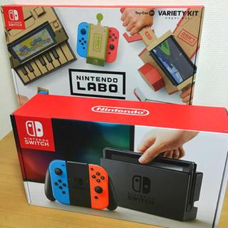 ニンテンドウ(任天堂)の新品 Nintendo Switch & Labo 任天堂 スイッチ ラボ(家庭用ゲーム本体)