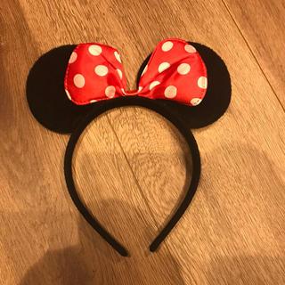 ディズニー(Disney)のミニーちゃん ベビー カチューシャ(帽子)
