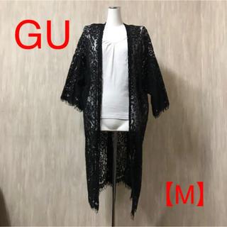 ジーユー(GU)のGU ♡ レースロングカーディガン(カーディガン)