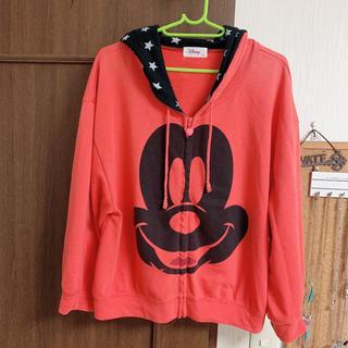 ディズニー(Disney)のミッキーマウス  パーカー(パーカー)