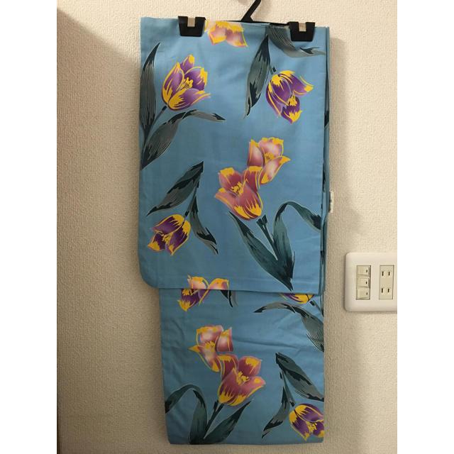 特価品 注染 女性用 高級浴衣 三勝染 手染め 本染 日本製 YW-08 レディースの水着/浴衣(浴衣)の商品写真