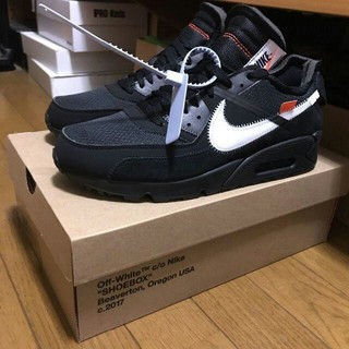 ナイキ(NIKE)のOFF WHITE the 10 Air Max 90 AA7293-001(スニーカー)