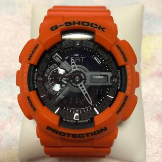 カシオ(CASIO)のCASIO G-SHOCK GA-110MR レスキューオレンジ(腕時計(デジタル))