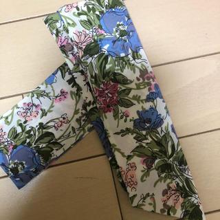 パサージュミニョン(passage mignon)の花柄 スカーフ バンダナ(バンダナ/スカーフ)