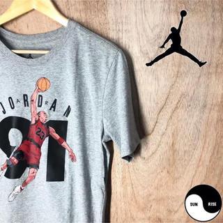 ナイキ(NIKE)のnike ナイキ air jordan エア ジョーダン プリント tシャツ(Tシャツ/カットソー(半袖/袖なし))