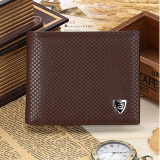 新品〔ブラウン〕SIMカード ケース付き 折り財布 カードケース 二つ折り財布(折り財布)