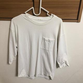 ジーユー(GU)の七分丈Tシャツ(Tシャツ/カットソー(七分/長袖))