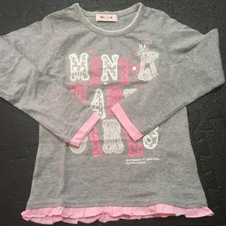 ミニケー(MINI-K)の新品女の子用ロンT(Tシャツ/カットソー)