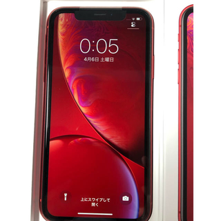 Apple - iPhoneXr 64GB red docomo
