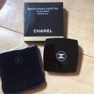シャネル(CHANEL)のCHANELのコンパクト両面鏡 ミラー(ミラー)