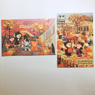 ディズニー(Disney)のダッフィー&シェリーメイ ポストカード(切手/官製はがき)