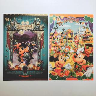 ディズニー(Disney)の2014年ハロウィンポストカード(切手/官製はがき)