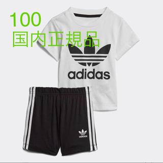 アディダス(adidas)のadidas Tシャツ ショーツ 上下 セット トレフォイル アディダス(その他)