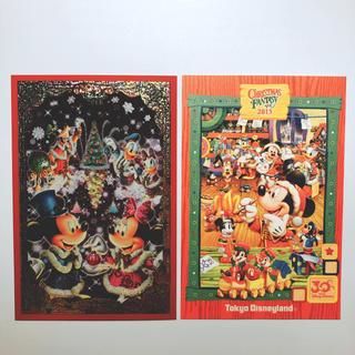 ディズニー(Disney)の2013年クリスマスポストカード(切手/官製はがき)