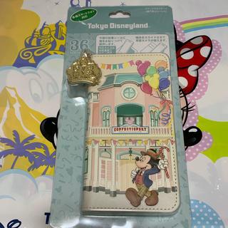 ディズニー(Disney)のスマートフォンケース(モバイルケース/カバー)