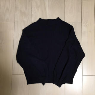 ネイビーのセーター(ニット/セーター)