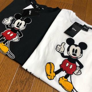 ディズニー(Disney)のディズニー ペアルック Tシャツ ミッキー(Tシャツ/カットソー(半袖/袖なし))