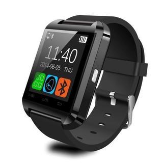 【大人気・値下げ中☆】スマートウォッチ1.44インチ 超薄型フルタッチ(腕時計(デジタル))