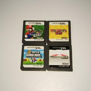 ニンテンドーDS(ニンテンドーDS)の任天堂DSソフトのみマリオセット(携帯用ゲームソフト)