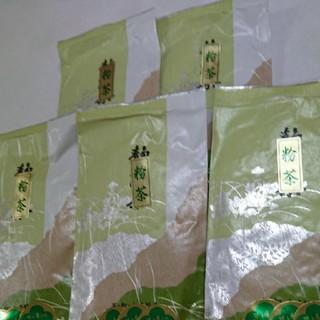 お寿司屋さんの粉茶   100g5袋(茶)