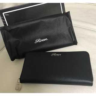 ロエン(Roen)の【新品】ROEN ロエン 長財布 ウォレット 黒 ブラック(長財布)