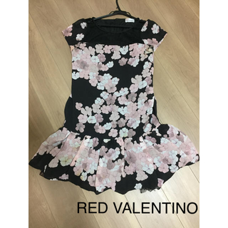 RED VALENTINO - 最終値下 極美品  RED VALENTINO ワンピース