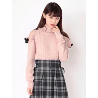 アンクルージュ(Ank Rouge)の大人気完売♡美品♡Ank Rouge 肩あきニット(ニット/セーター)