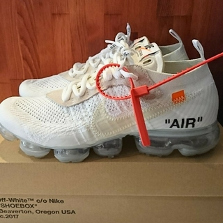 NIKE - 【希少美品】OFF-WHITE × NIKE AIR VAPORMAX 27㎝