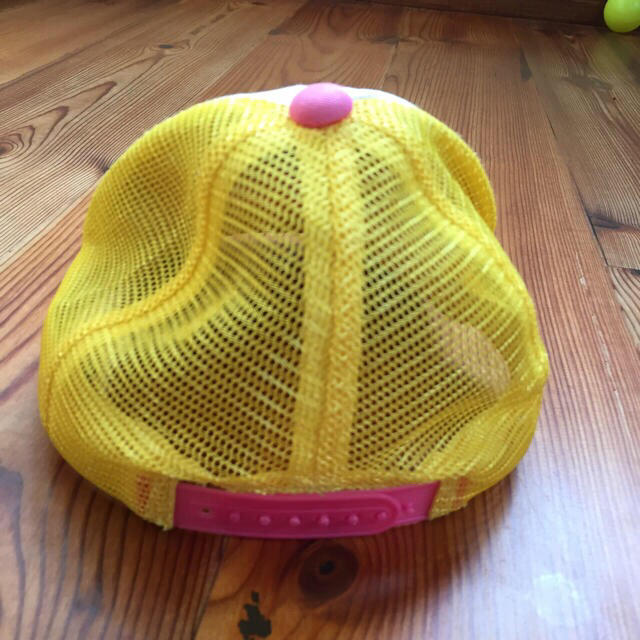 Orange bonbon(オレンジボンボン)のorange bonbon 帽子 キャップ メッシュ 女の子  キッズ/ベビー/マタニティのこども用ファッション小物(帽子)の商品写真