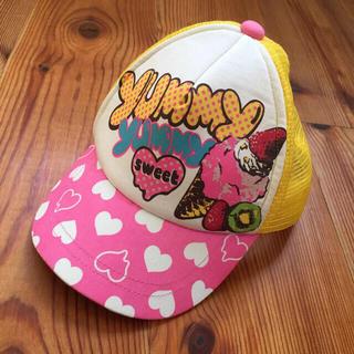 オレンジボンボン(Orange bonbon)のorange bonbon 帽子 キャップ メッシュ 女の子 (帽子)
