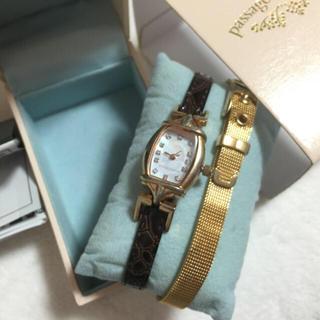 パサージュミニョン(passage mignon)のpassage  mignon 腕時計(腕時計)