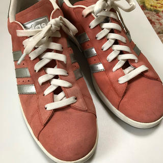 adidas - ★adidas★ キャンパス スニーカー ピンク