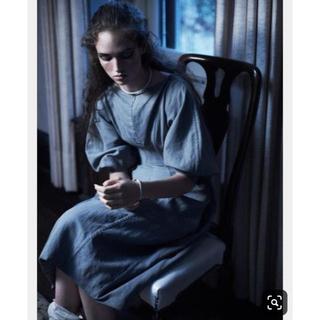 celine -  celine linen long dress 未使用品36