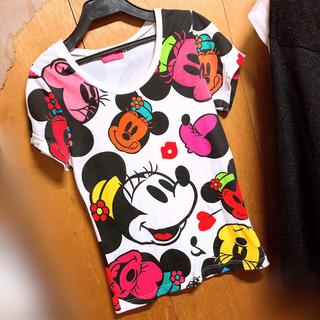 ディズニー(Disney)のTDR ディズニー ミニー Tシャツ M(Tシャツ(半袖/袖なし))