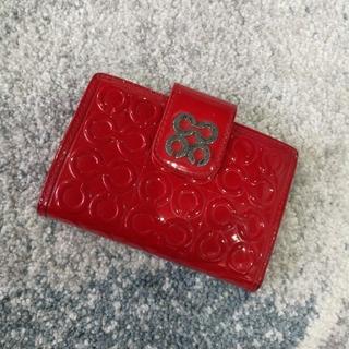 79dff4563944 コーチ(COACH) がま口 財布(レディース)(レッド/赤色系)の通販 10点 ...