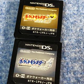 ニンテンドーDS(ニンテンドーDS)のポケットモンスター ハートゴールド ソウルシルバー(携帯用ゲームソフト)