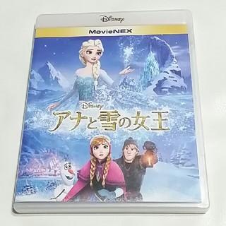 ディズニー(Disney)の美品 アナと雪の女王 ブルーレイ・純正ケース付き(キッズ/ファミリー)