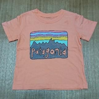 パタゴニア(patagonia)の美品☆パタゴニア3TキッズTシャツ95~100(Tシャツ/カットソー)