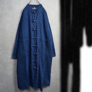 アンダーカバー(UNDERCOVER)のチャイナコート カンフーコート ビッグサイズ unisex(Gジャン/デニムジャケット)