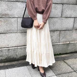i-SOOK - isook アイスー ティアードロングフリルスカート