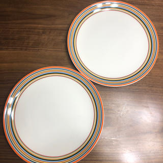 イッタラ(iittala)のiittala洋食器オリゴオレンジ2枚(食器)
