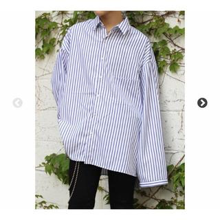 コムデギャルソン(COMME des GARCONS)のdog購入 ビッグストライプシャツ (シャツ)