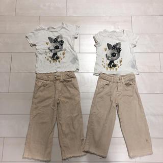 ZARA KIDS - 双子コーデ  100と110センチ  女の子