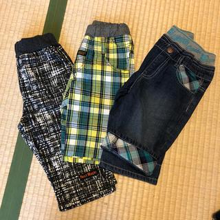 120cmサイズ ズボン3枚セット(パンツ/スパッツ)