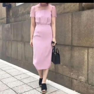 a3d30a2d1eeb4 スナイデル(snidel)のんにゃち 様 専用!snidel ピンク ドレス ワンピース (