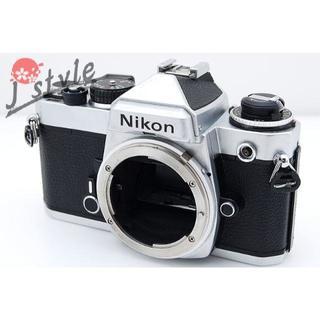 Nikon FE シルバー ボディ◆V529(フィルムカメラ)