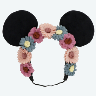 ディズニー(Disney)のディズニー ミニー カチューシャ 花冠(カチューシャ)
